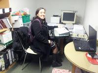 Unha das nosas traballadoras sociais, Pepa Váquez.