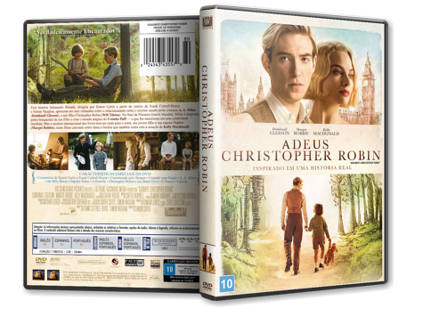 Capa DVD Adeus Christopher Robin [Custom]