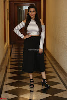 Manjusha in sleevelss crop top and black skirt at Darshakudu pre release ~  Exclusive Celebrities Galleries 121.JPG