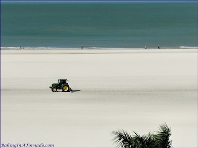 Plowing the fields Marco Island style | picture property of www.BakingInATornado.com | #vacation