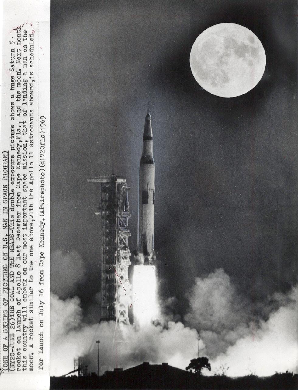 Signed Covers: USA 1968 Apollo 8