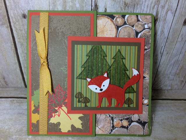 Box builder, Foxy Friends Stampin'Up!