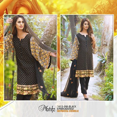 Motifz pakistani embroidery designs dresses 2017