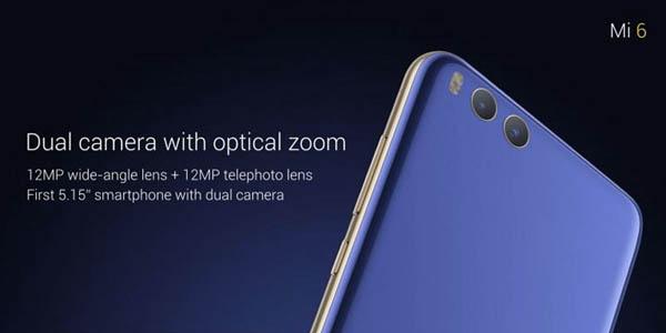 Kamera Xiaomi Mi 6