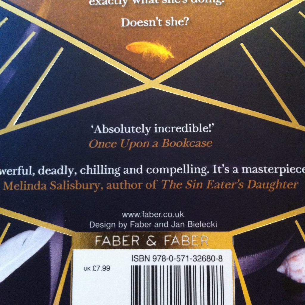 Quote on the back cover of The Graces by Laure Eve