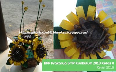 Download RPP Prakarya SMP Kurikulum 2013 Kelas 8 Revisi 2016