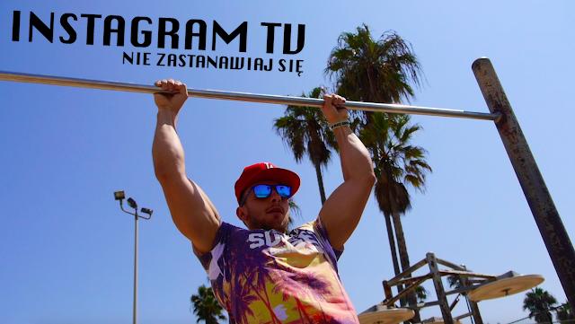 INSTAGRAM TV - Przyciąganie kolan do klatki piersiowej w zwisie na drążku