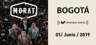 Concierto de MORAT en Bogotá | Movistar Arena
