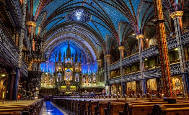 Catedral de Notre Dame - interior