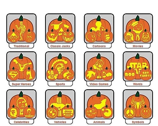 easy pumpkin carving stencils, easy pumpkin carving stencils free