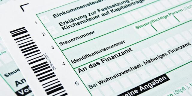 اطلب الرقم الضريبي الخاص بك في ألمانيا ليصلك مجانا إلى عنوانك