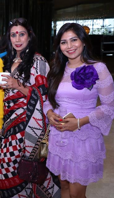 Raveena Jhulka Verma with Deepika Krishna-