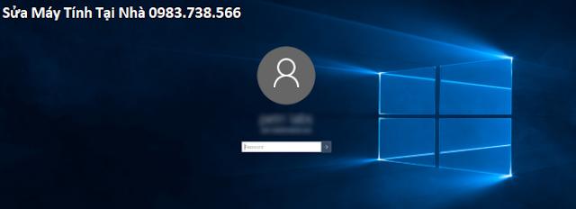 Màn hình đăng nhập yêu cầu nhập mật khẩu