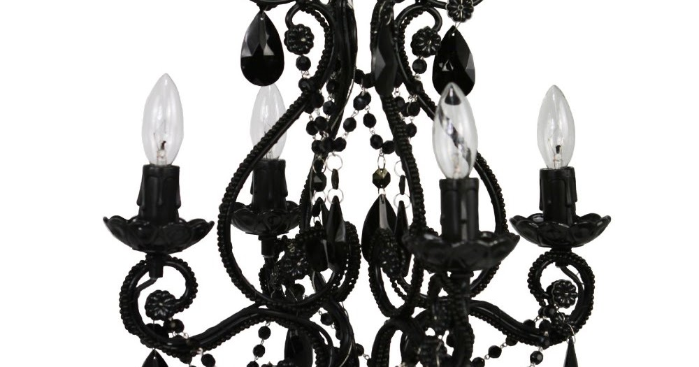 Cheap Black Chandeliers For Bedrooms: Fanciful Or Dramatic