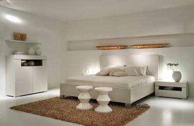 Dormitorio matrimonial blanco