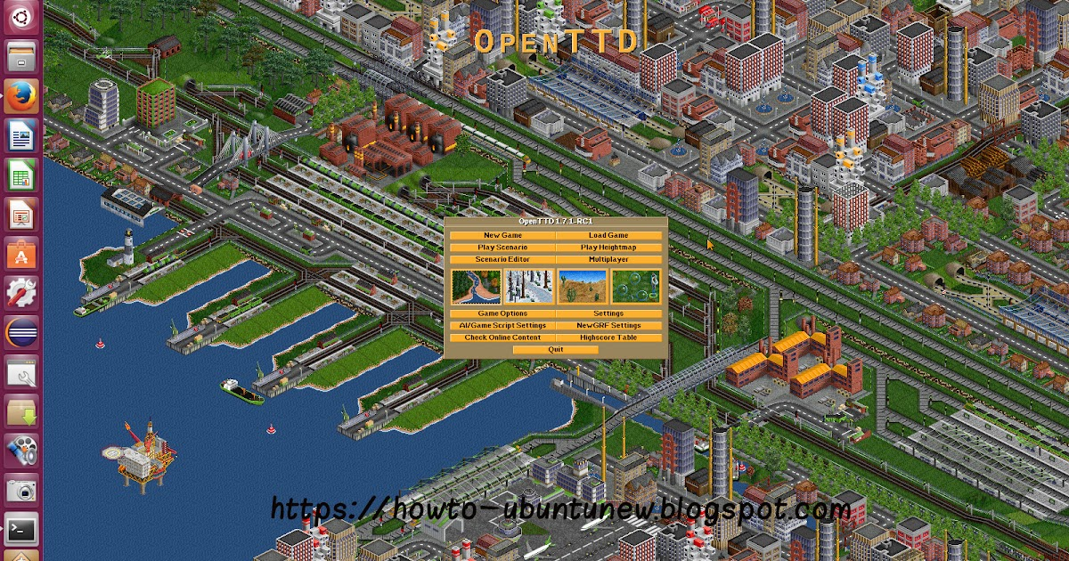 How to install program on Ubuntu: How to install OpenTTD 1.7.1 Transport Tycoon Deluxe game on ...