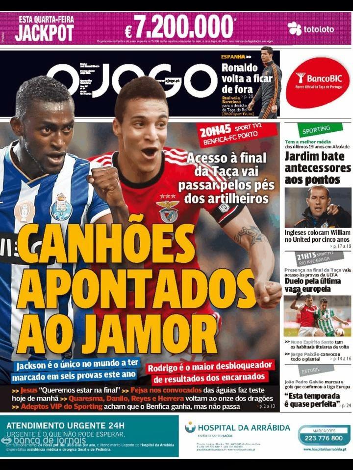 Eduardo Toto Salvio Capas Dos Jornais Desportivos Portugueses
