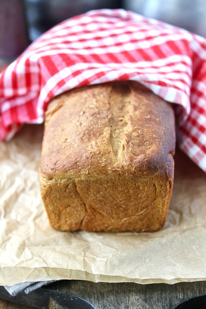 New England Old Fashioned Oatmeal Bread