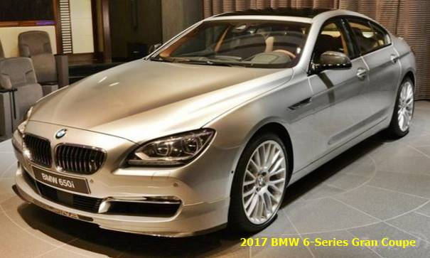 2017 Bmw 6 Series Gran Coupe