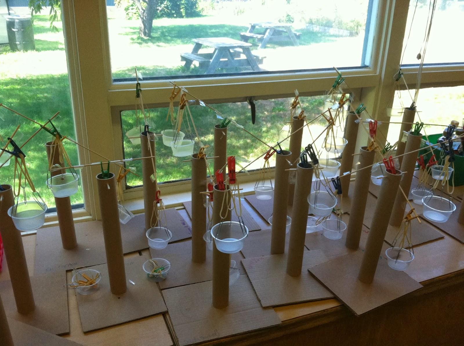 Essex Elementary School Principal's Blog: Pan Balances in