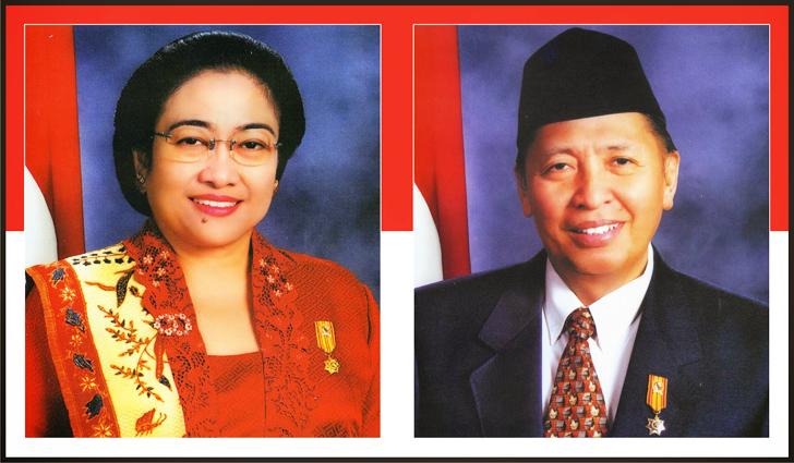 Megawati Soekarnoputri dan Hamzah Haz