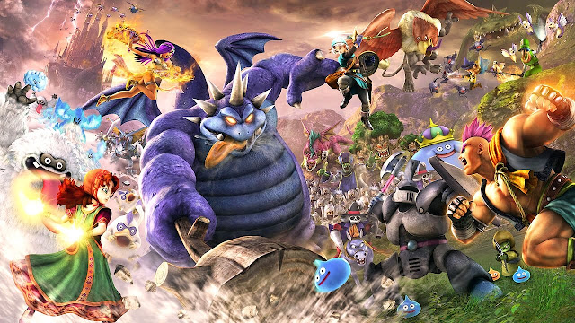 """Dragon Quest Heroes II"" Game hành động Hack and Slash 2016"