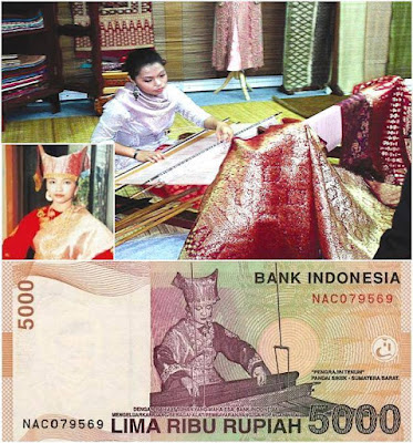 Penampakan Asli Dari Uang Rupiah Indonesia Lima Ribu Rupiah
