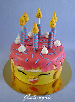 Fondant Shopkins Cake Toppers