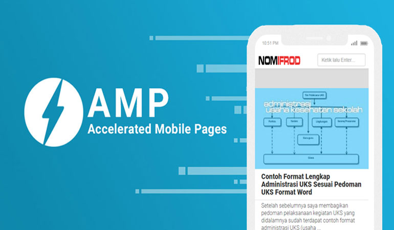 Alasan Sederhana Kenapa NomIfrod.com Menggunakan Template Valid AMP HTML