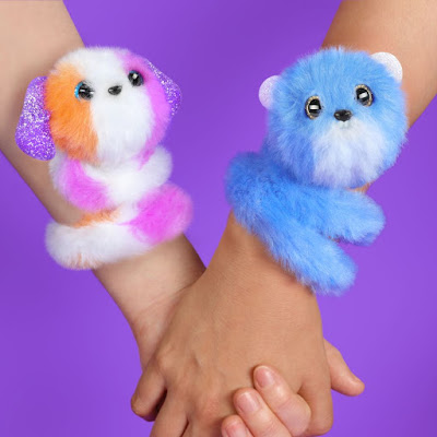 Мягкие игрушки браслеты Pomsie Poos
