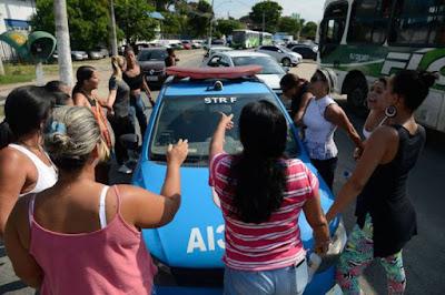 Quinto Poder no Brasil - Mulherario (Mulheres de Policiais)