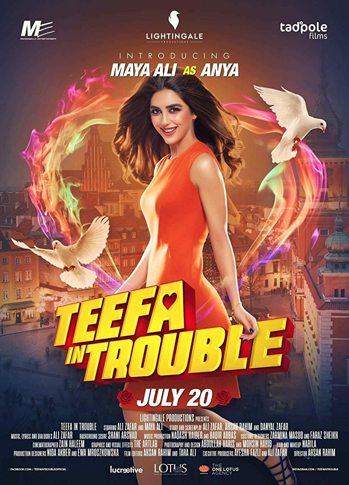 Teefa In Trouble (2018) Urdu (Hindi) 720p WEB-HDRip 1.2GB Free Download