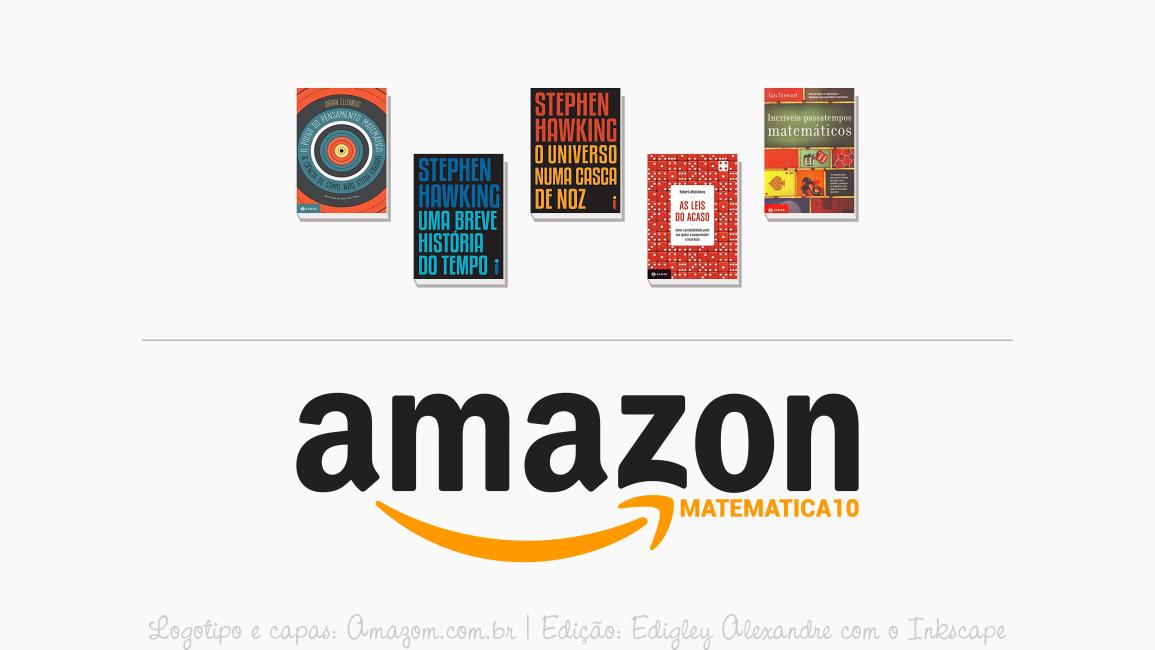 Cupom de desconto na Amazon para cinco livros imperdíveis