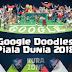 Google Doodles - Piala Dunia 2018 H-1