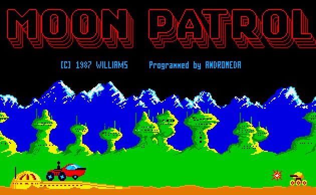 Indie Retro News: Moon Patrol - 1982 Arcade classic gets an