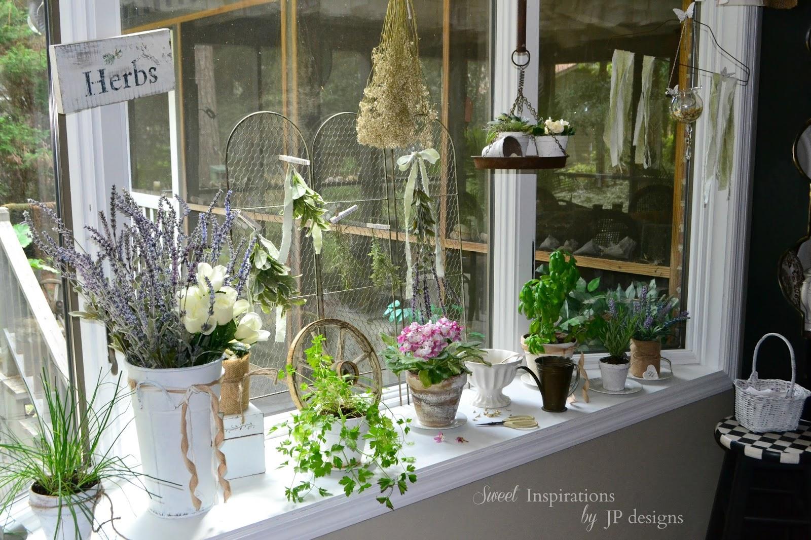 sweet inspirations by jp designs my kitchen window herb garden. Black Bedroom Furniture Sets. Home Design Ideas