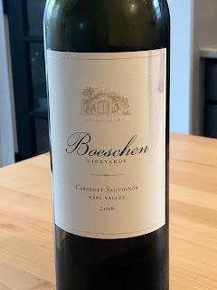 2016 Boeschen Vineyards Estate Cabernet Sauvignon label