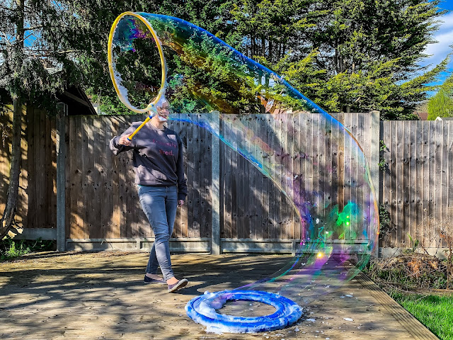 A bubble snake by mega loop