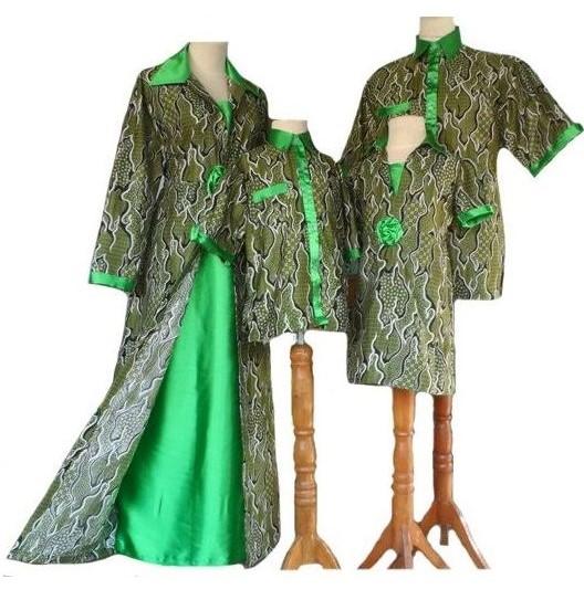 Batik Kerja Couple Terbaru: 10 Model Baju Batik Couple Keluarga Trend Terbaru 2018