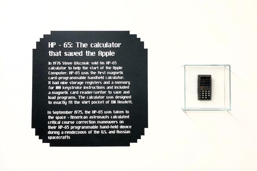HP-65 Apple Museum