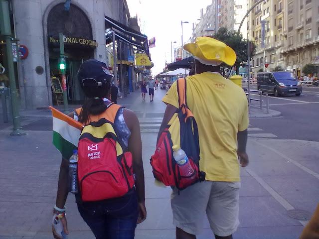 Programación del miércoles 16 de Agosto de 2011 en la Jornada Mundial de la Juventud