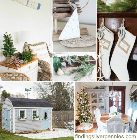 A Coastal Country Christmas Home Tour Decor Ideas