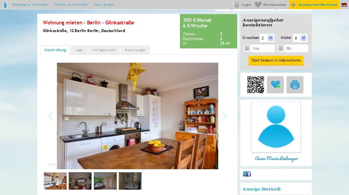 wohnungsbetrugblogspotcom niranbelloyahoocom  EUR200  2br  800ft  2bd apartment In