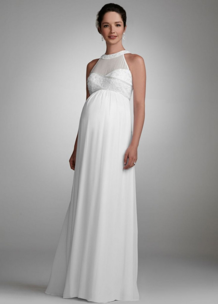 Maternity Wedding Gown The Wedding Dresses