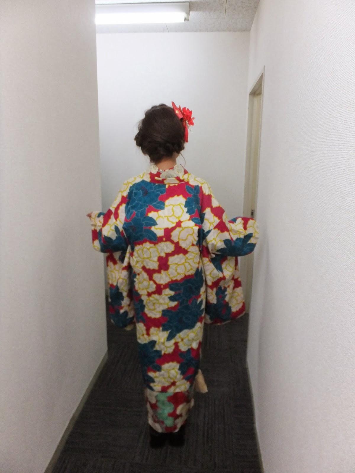 日本の着物は美しいです