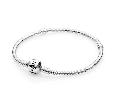 bracelet en argent PANDORA