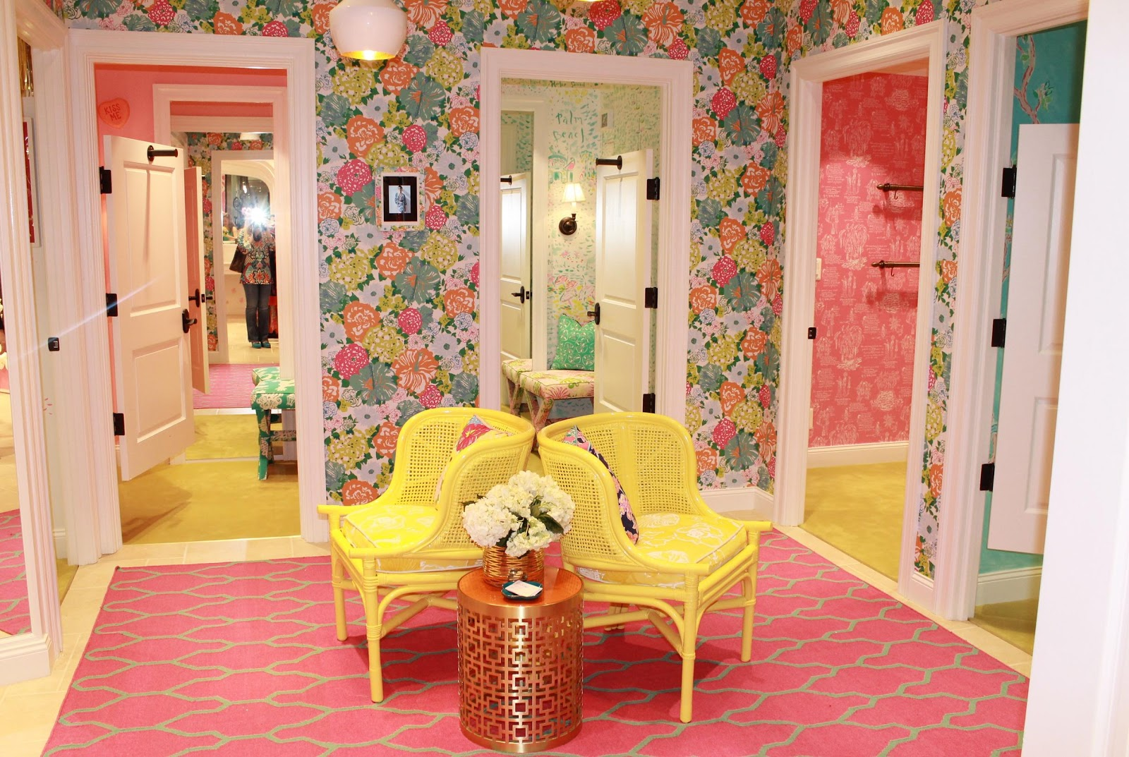 Maryland Pink and Green Lilly Pulitzer Tysons Galleria Opens
