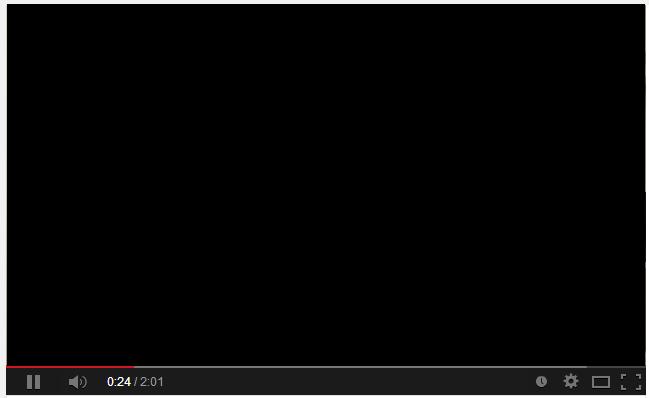 熱情輕鬆地過生活: 使用 Google 瀏覽器 Chrome 看 Youtube 黑屏(畫面全黑)