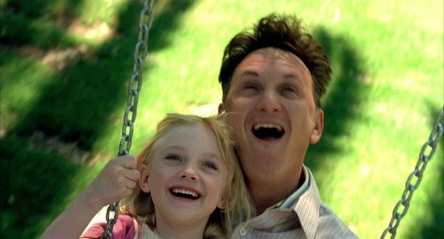 Sean Penn interpretando a un discapacitado psíquico en Yo soy Sam (2001)