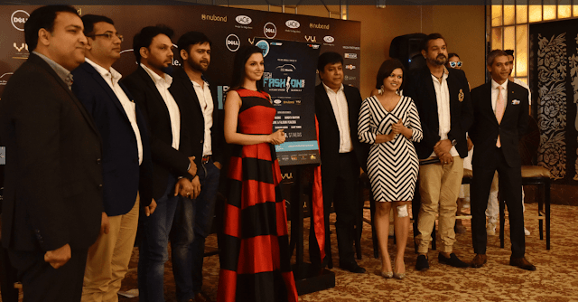 Divya Khosla Kumar launched Beetle's Tech Fashion Tour 2016, organized by Exhibit Technologies-min